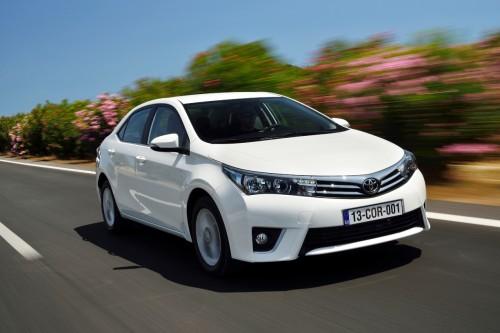 Yeni Toyota Corolla.
