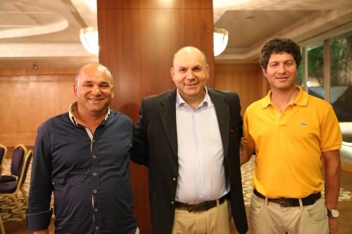 Mustafa Özgiray, Ercan Kazaz ve Serkan Sarıkaya