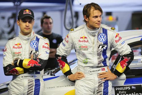 Mikko Markkula ve Andreas Mikkelsen
