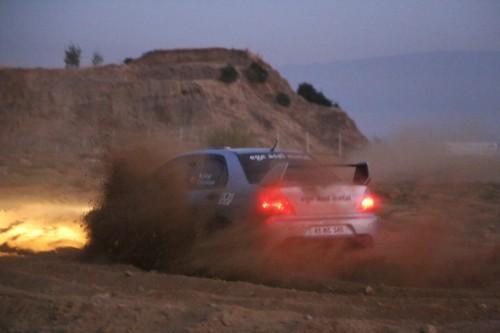 Mithat Diker, Evo 9'u ile ikinci yarışa far yakarak çıktı!