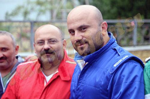 Karabük Başkanı Ahmet İsmail Ayhan (sağda) ve Demir..