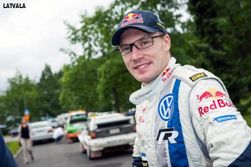 Latvala, Finlandiya'dan sonra Lahti Rally'i de kazanma peşinde..
