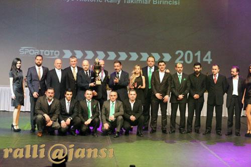 2014 Türkiye Historic Ralli Takımlar Şampiyonu; Parkur Racing